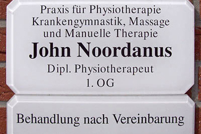 Praxis für Physiotherapie, manuelle Therapie & Massage John Noordanus in Harsewinkel